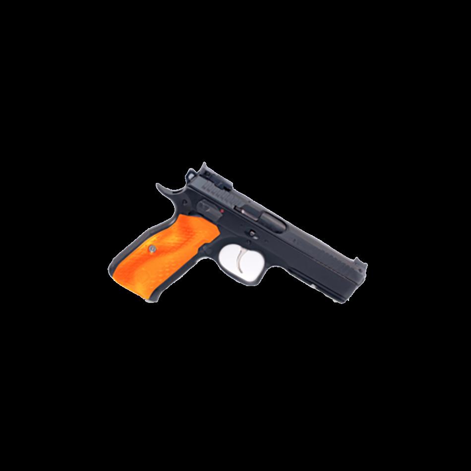 Grips til CZ/3D President lang - orange
