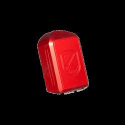Base pads til Classic Line glat overflade - rød