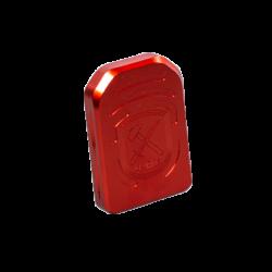 Base pads til Standard Magwell (+1 round) - rød