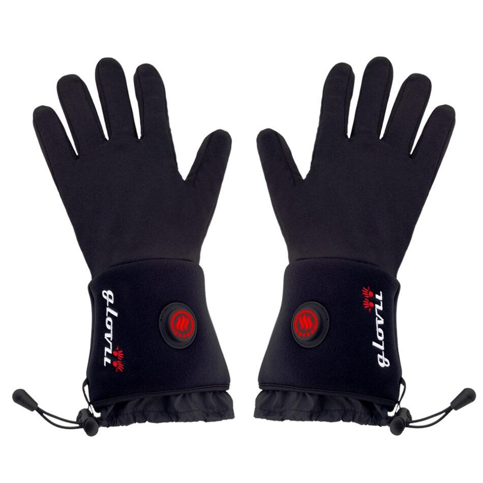 Opvarmede handsker - sort